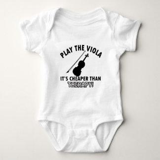 VIOLA instrument designs Baby Bodysuit