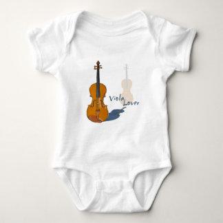 Viola Lover Baby Bodysuit