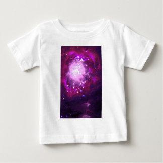 Violet and Burgundy Nebula Baby T-Shirt