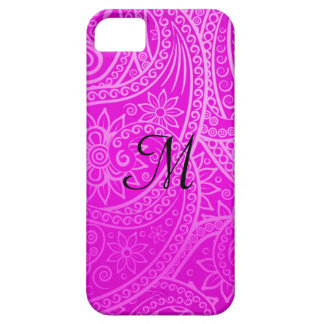 Violet and purple oriental phone case