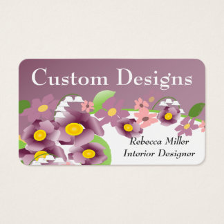 Violet Appointment Cards