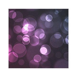violet bubble wall frame canvas print