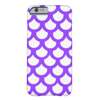 Violet Fish Scale 1 Barely There iPhone 6 Case