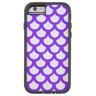 Violet Fish Scale 1 Tough Xtreme iPhone 6 Case