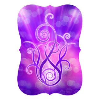 Violet Flame / Violet Fire Invitation