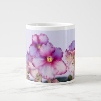 Violet Flowers 20 oz Jumbo Mug - Bowl