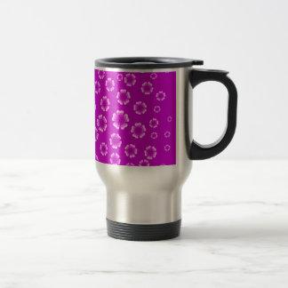 violet flowers coffee mugs