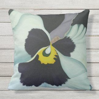 violet pansi 2011 outdoor cushion