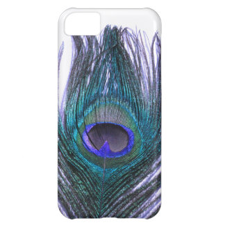 Violet Peacock Feather iPhone 5C Case