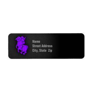 Violet Purple Aries