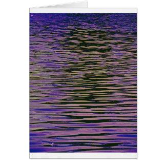 Violet Ripples Card