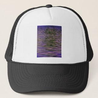 Violet Ripples Trucker Hat