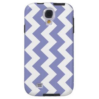 Violet Tulip Zigzag Chevron Samsung Galaxy S4 Case