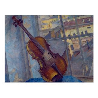 Violin, 1918 postcard