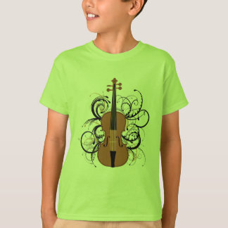 Violin Swirls T-Shirt