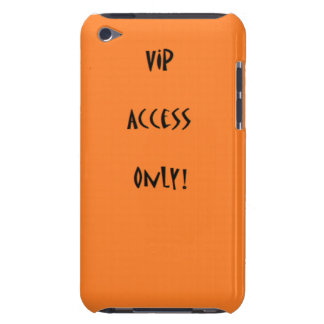 Vip access only iPod case Barely There iPod Covers