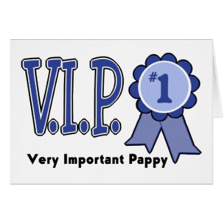 VIP Pappy Card