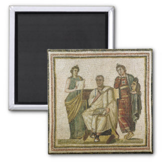 Virgil  and the Muses, from Sousse Magnets