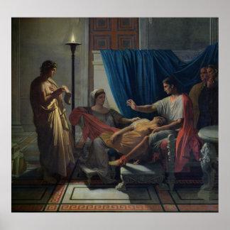 Virgil Reading the Aeneid Poster