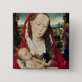 Virgin and Child, c.1467-70 15 Cm Square Badge