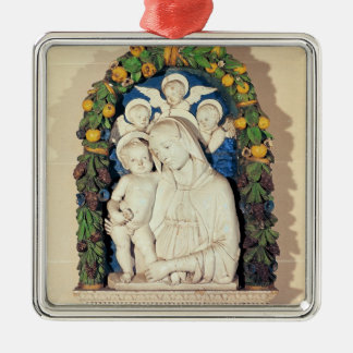 Virgin and Child Christmas Ornament