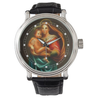 Virgin Mary And Baby Jesus Watch (Multiple Models)