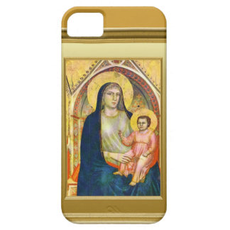 Virgin Mary and child Jesus iPhone 5 Case