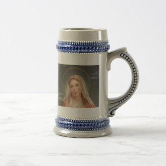 VIRGIN MARY BEER STEIN