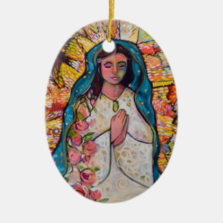 Virgin of Guadalupe Christmas ornament