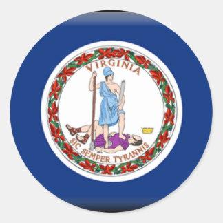 Virginia Flag Sticker