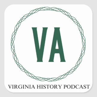 Virginia History Podcast Logo Sticker