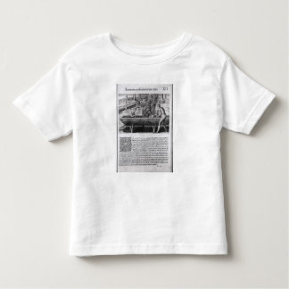 Virginia Indians making dugout boats T Shirts