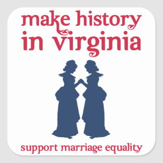 Virginia Marriage Equality Stickers