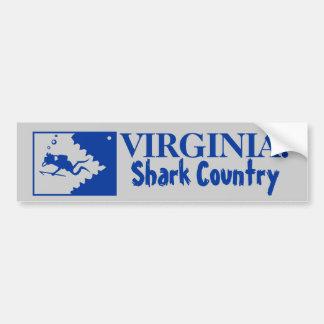 Virginia: Shark Country Bumper Sticker