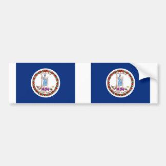 Virginia State flag Bumper Sticker