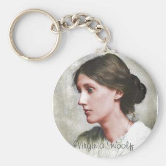 Virginia Woolf Key Ring
