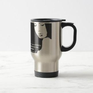 Virginia Woolf quote Travel Mug