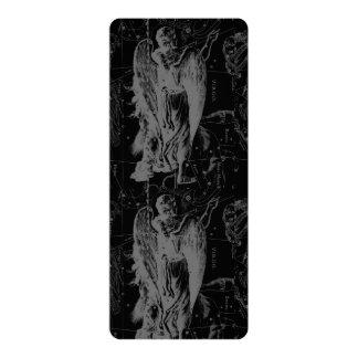 Virgo Constellation Hevelius 1690 Vintage Card