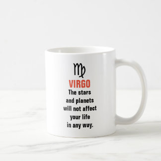 Virgo Horoscope - The stars and planets will not Coffee Mug