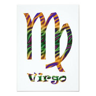 Virgo Psychedelic Card