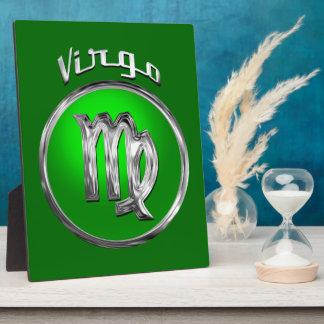 Virgo - The Maiden Zodiac Symbol Photo Plaques