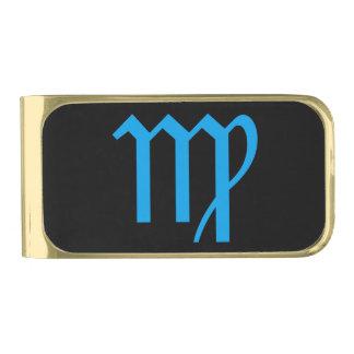 Virgo Zodiac Money Clip