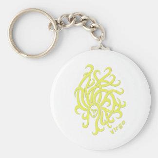Virgo Zodiac Sign Key Ring
