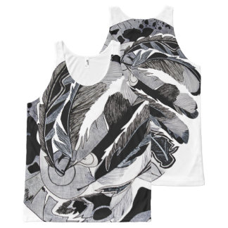 Virtual insanity All-Over print tank top