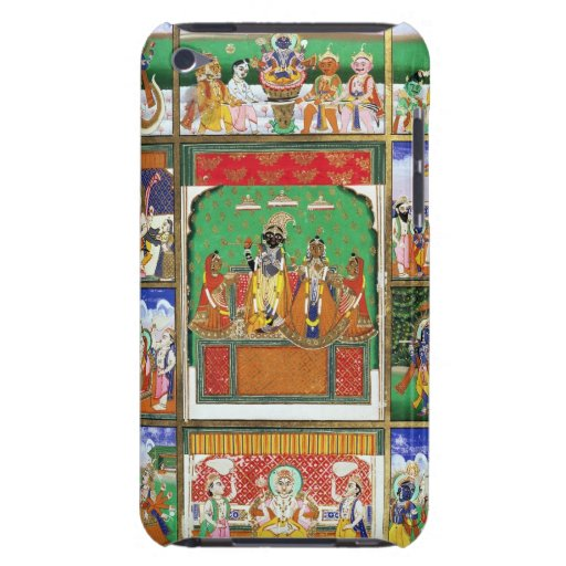 Vishnu in the centre of his ten avatars, Jaipur, R iPod Touch Case