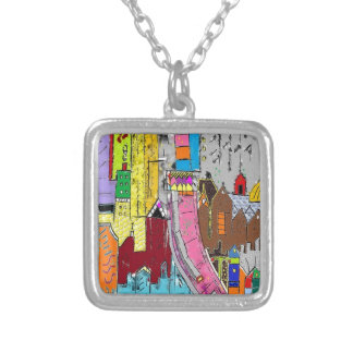 Vision Medellin Colombia Silver Plated Necklace
