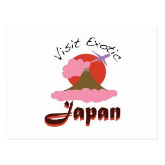 Visit Exotic Japan Postcard