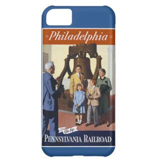 Visit Philadelphia on The Pennsylvania Railroad iPhone 5C Case