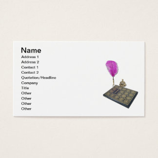 Visitor Book Pen Service Bell Business Card
