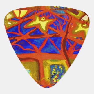 Visual Arts 860 (tree) Guitar Pick